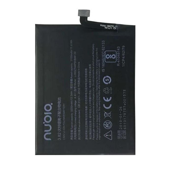 Аккумулятор акб ориг. к-во ZTE Li3932T44P6H806139 Nubia Z17, 3200mAh