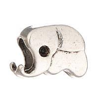 Бусина Pandora слоник (Пандора) посеребренная P2908019