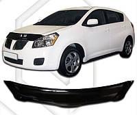 Дефлектор капота Pontiac Vibe с 2008,  Мухобойка Pontiac Vibe