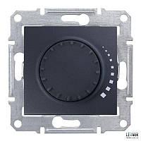 Выключатель поворотный Schneider Sedna индуктивный 60-325 Вт графит (SDN2200470)