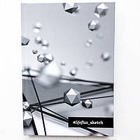 Скетчбук для акварели #LifeFLUXsketch во Времени А5 108 листов 170 г/м2 Твёрдый переплёт