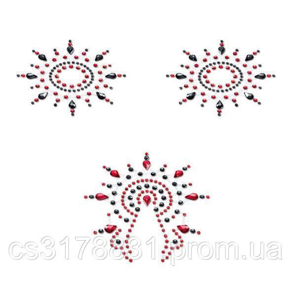 Пэстис Petits Joujoux Gloria set of 3 - Black/Red