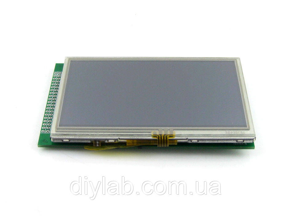 LCD TFT 4.3inch 480x272 Resistive touchscreen, фото 1