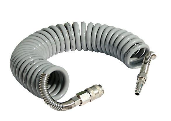 Шланг полиуретановый спиральный Fachowiec GM-1065C Germany (6,5х10х15 м)