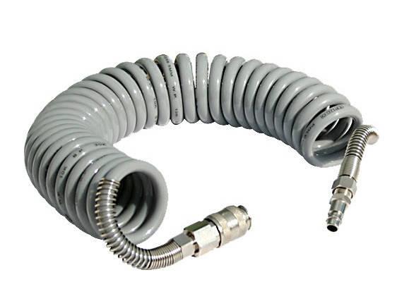 Шланг полиуретановый спиральный Fachowiec GM-1065C Germany (6,5х10х15 м), фото 2