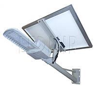 Уличный светодиодный светильник VIDEX 50W-5000K на солнечной батарее (VL-SL603-505-SO)