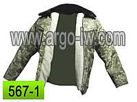 Куртка армейская.камуфляж пиксель.куртка зимняя камуфляжня,бушлат цифра,пошив камуфляжа