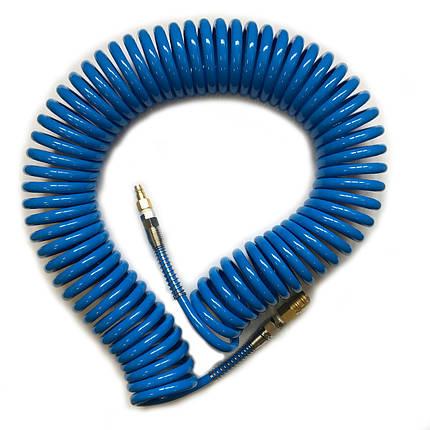 Шланг поліуретановий спіральний Air Pro UB6510150 (6,5х10х15 м), фото 2