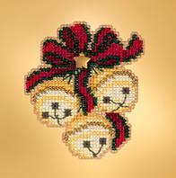 Набор для вышивания с магнитом Mill Hill Jingle Bell Trio MH181933