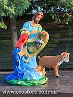 Різдвяний комплект (вертеп, козеня), фото 1