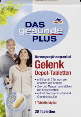 Биологически активная добавка Das Gesunde Plus Gelenk (глюкозамин), 30 шт.