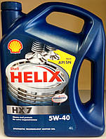 Моторное масло Shell Helix HX7 SAE 5W-4