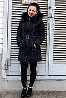Пальто женское зимнее средней длинны