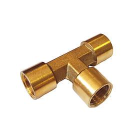 Двойник T 3х1/4w для пневмосистем S1277-2