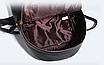 Рюкзак женский из кожзама Betty Черный, фото 4