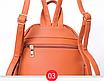 Рюкзак женский из кожзама Betty Черный, фото 6