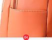 Рюкзак женский из кожзама Betty Черный, фото 8