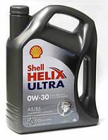 Cинтетические моторное масло Shell Helix Ultra 0W-30