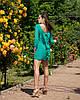 """Облегающее шифоновое мини-платье """"Amor"""" с бантом на спине (5 цветов), фото 6"""