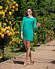 """Облегающее шифоновое мини-платье """"Amor"""" с бантом на спине (5 цветов), фото 5"""
