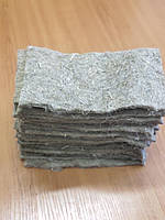 Килимки для вирощування мікрозелені лляні мікрогрін упаковка 50 шт. розмір 10*20 см, фото 1