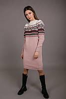 Женское вязаное платье, универсальный размер
