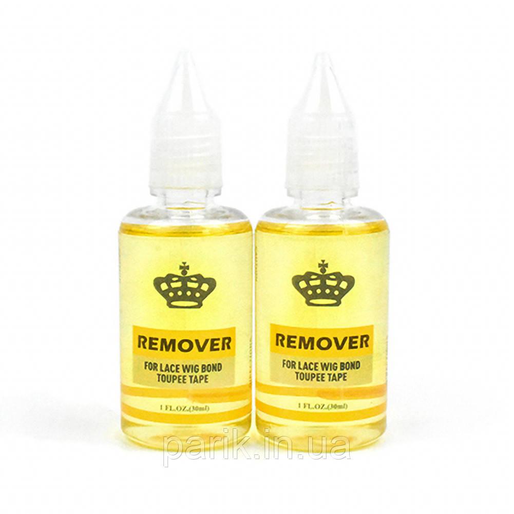 Ремувер растворитель, жидкость для снятия ленты, клея с парика, накладки (системы волос), нарощенных волос