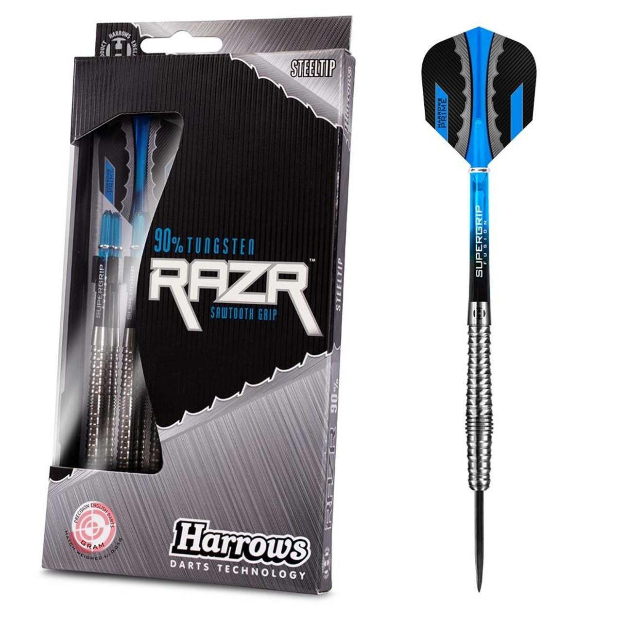 Дротики steel Harrows RAZR Англия вольфрам 22 и 23 грамма