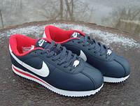 Кроссовки в стиле Nike Cortez 72 синие
