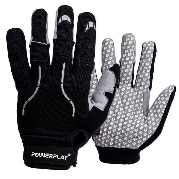 Робочі рукавички PowerPlay 6662 Чорні M