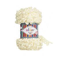 Пряжа для вязания ALIZE PUFFY FINE  ,цвет 62  , 100% Микрополиэстер