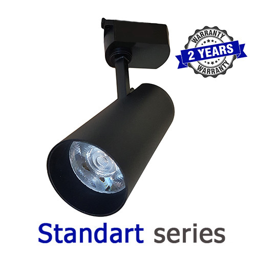 Трековый LED светильник 30W 4000-4500K серия Standart