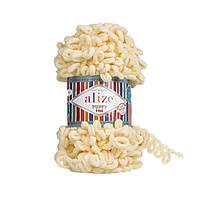 Пряжа для вязания ALIZE PUFFY FINE  ,цвет 160 , 100% Микрополиэстер