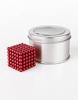 Неокуб NeoCube Красный ! [5мм * 216 шариков] + Коробка + мешочек + карточка в Подарок Game toys