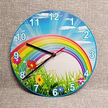 Часы настенные детские. Радуга