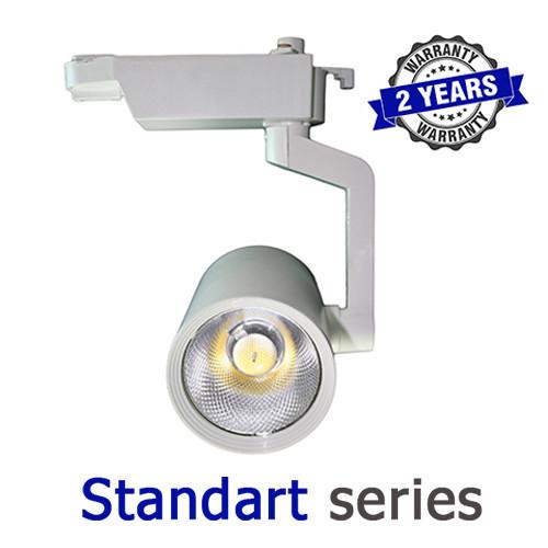 Трековый LED светильник 30W 6000-6500К, 4000-4500К, 2700-3300К серия Standart