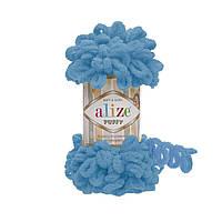 Пряжа для вязания ALIZE PUFFY  ,цвет 16 , 100% Микрополиэстер