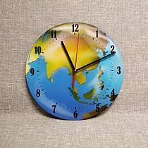 Часы для кабинета географии Глобус