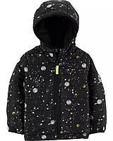 Детская демисезонная куртка с изображением космос для мальчика