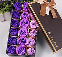 Мыло из роз Подарок подруге Подарок жене Подарок маме Розы из мыла Цветы из мыла