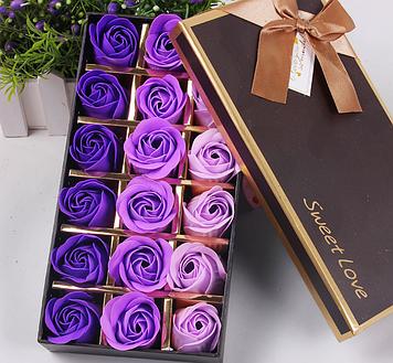Мыло из роз Подарок подруге Подарок жене Подарок маме Розы из мыла Цветы из мыла Подарок на 8 марта