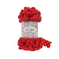 Пряжа для вязания ALIZE PUFFY  ,цвет 56 , 100% Микрополиэстер