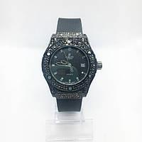 Женские наручные часы Hublot (Хаблот), черные ( код: IBW268B )