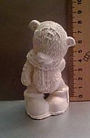 Гипсовая фигурка для раскрашивания статуэтка. Гіпсова фігурка для розмальовування. Мишка в шарфе