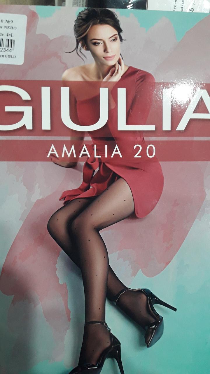 Фантазийные колготки в мелкий горох Giulia Amalia Model 9 20 Den