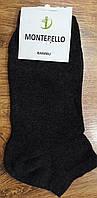 """Чоловічі стрейчеві шкарпетки""""MONTEBELLO"""" Туреччина 43-46 Темно-сірі"""