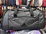 Спортивная дорожная adidas мессенджер Отличное качество оптом/Спортивная сумка только оптом, фото 2