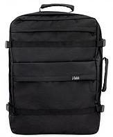 Рюкзак 55x40x20 для ручной клади, МАУ, Ernest, SkyUp для авиаперелетов, черный