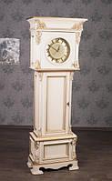 """Напольные часы из натурального дерева """"Фридрих"""", на заказ от производителя, часовой шкаф"""