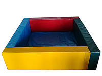 Сухой бассейн квадратный , разные размеры, фото 1